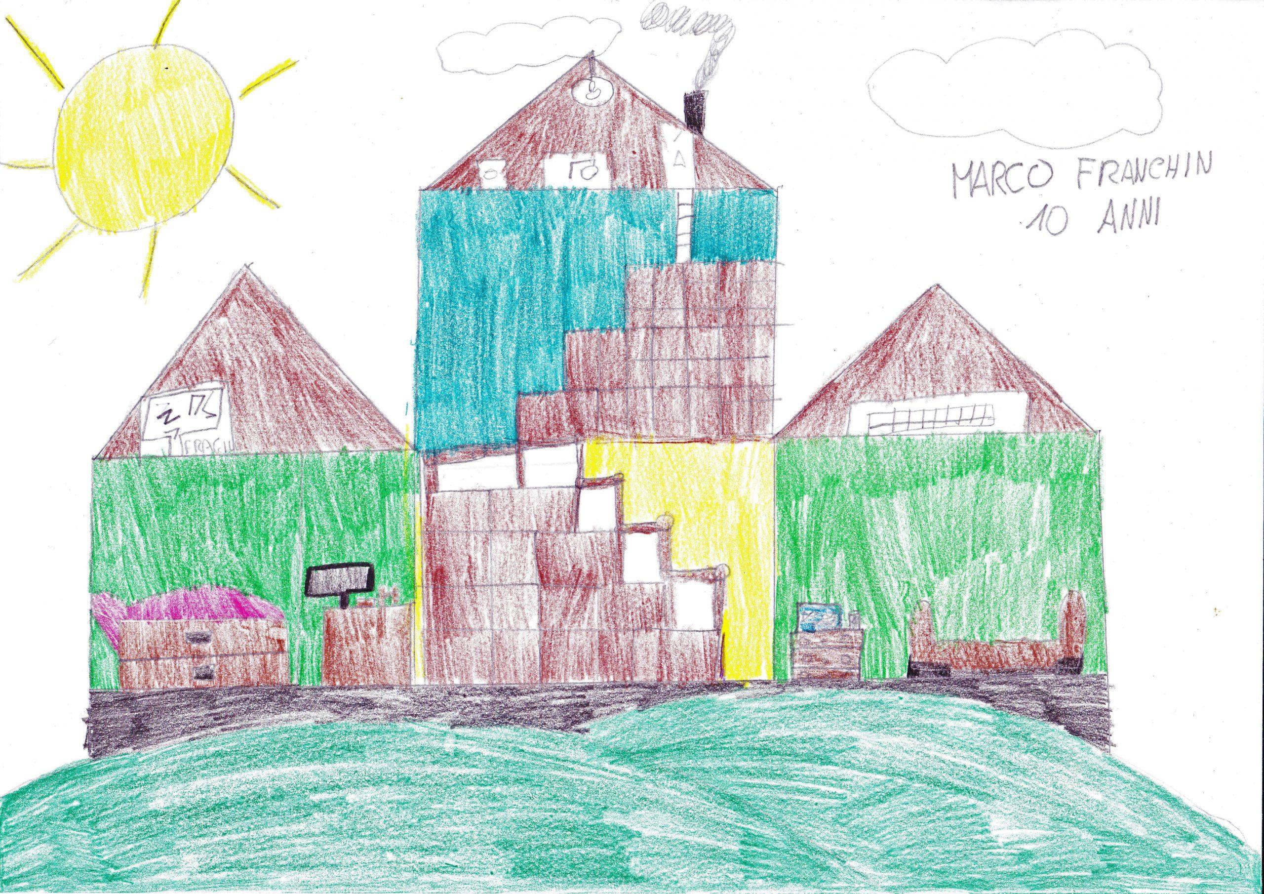 Questo disegno lo ha fatto Marco (10 anni)