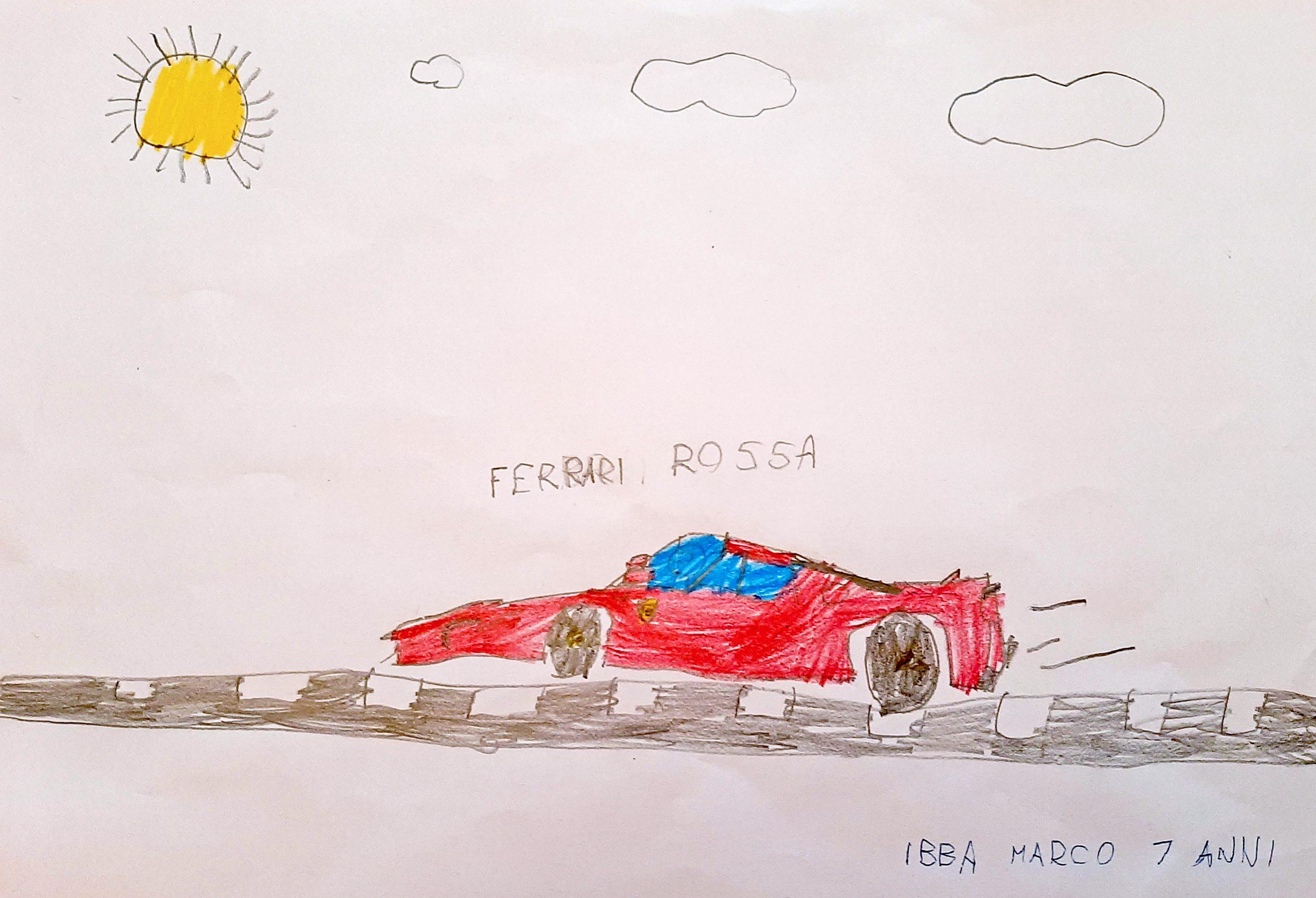 Questo disegno lo fatto Marco (7 anni)