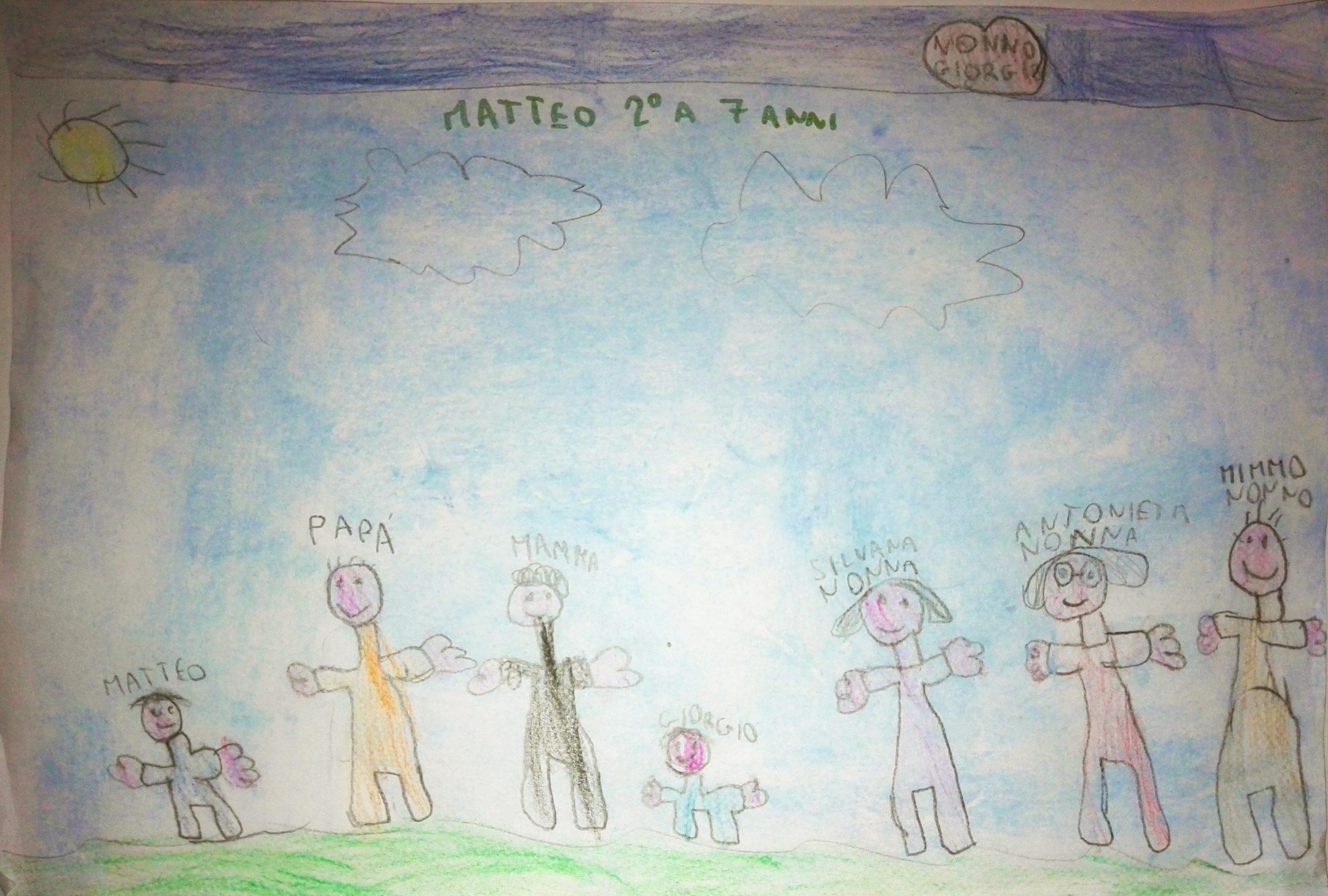 Questo disegno lo ha fatto Matteo (7 anni)