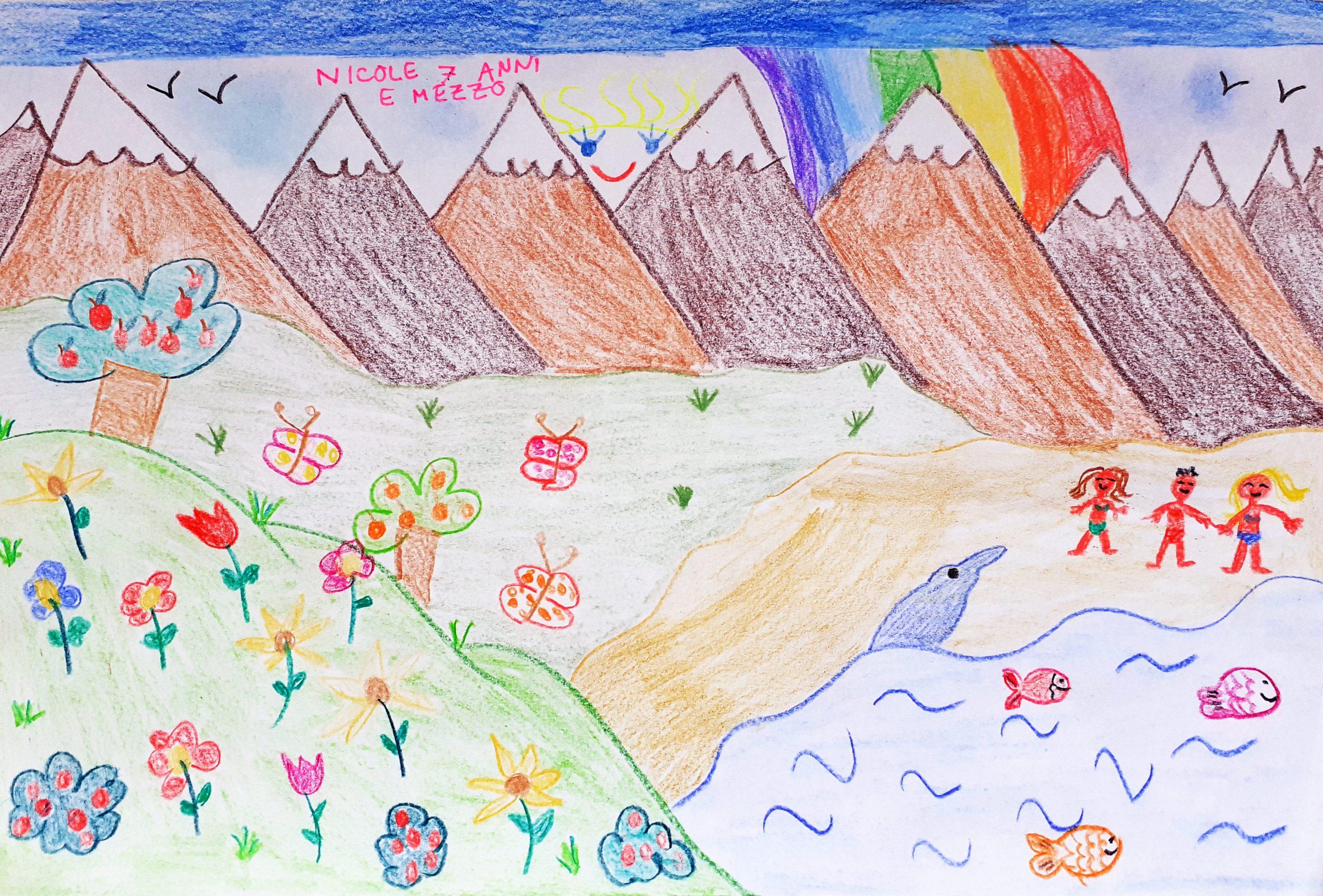 Questo disegno lo ha fatto Nicole (7 anni)