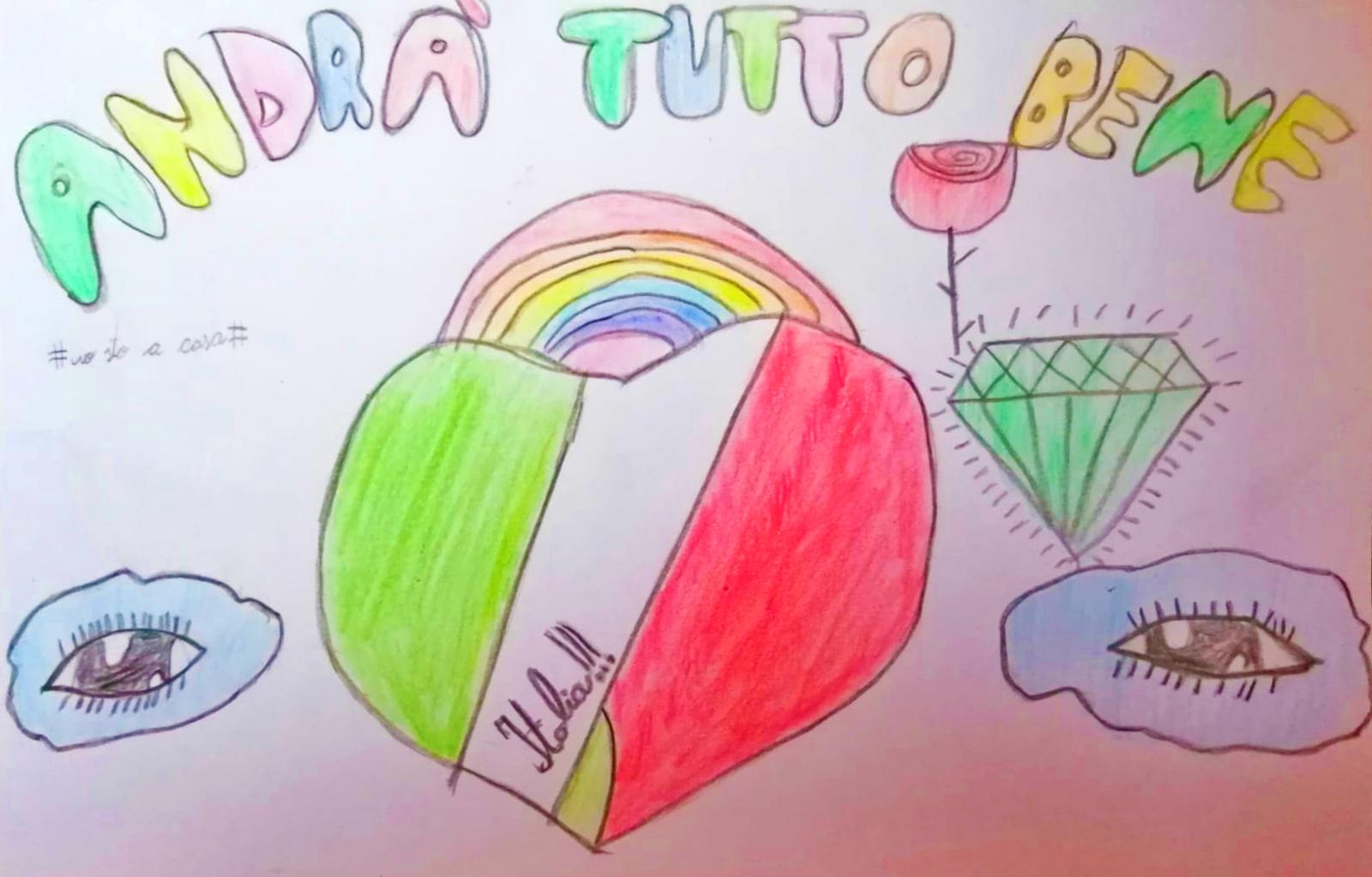 Questo disegno è stato fatto da Ayman (9 anni)