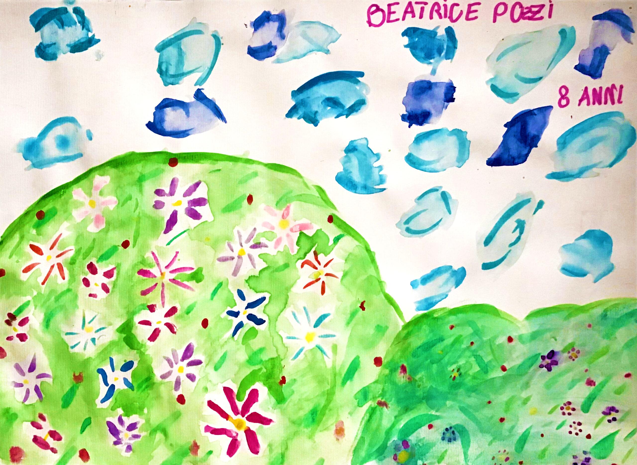 Questo disegno è stato fatto da Beatrice (8 anni)