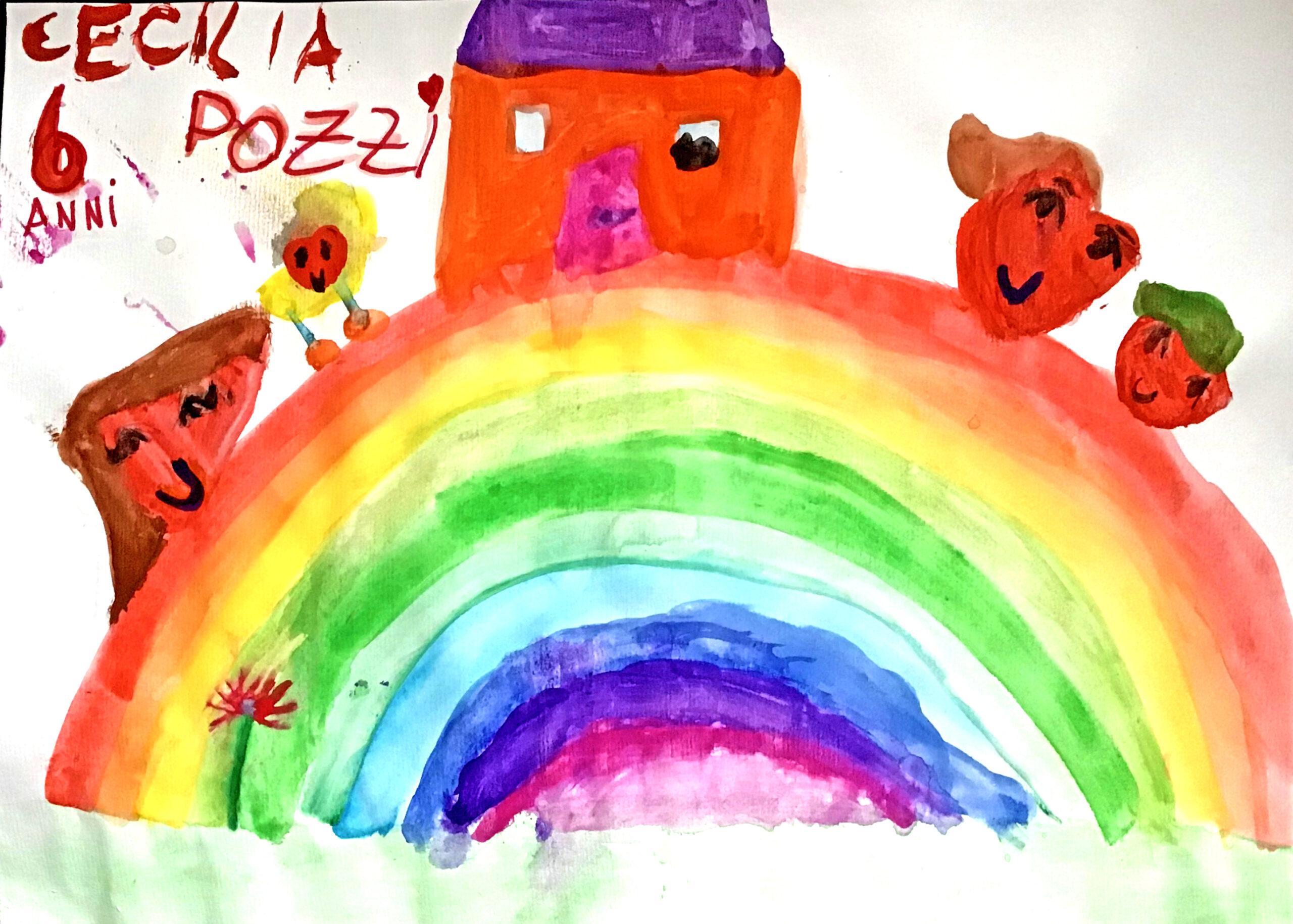 Questo disegno è stato fatto da Cecilia (6 anni)