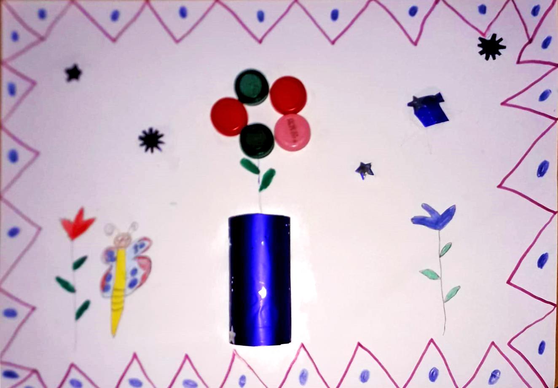 Questo disegno lo ha fatto Anas (6 anni)
