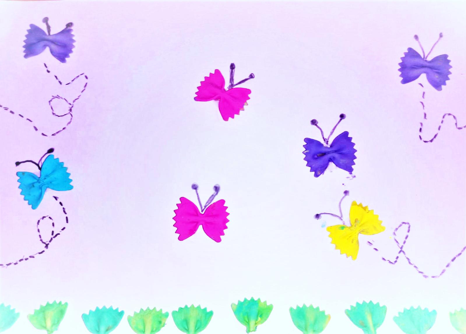Questo disegno lo ha fatto Chanel (6 anni)