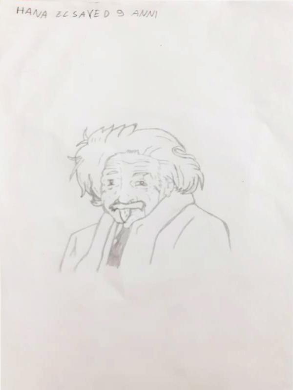 Questo disegno lo ha fatto Hana - parte 3 (9 anni)