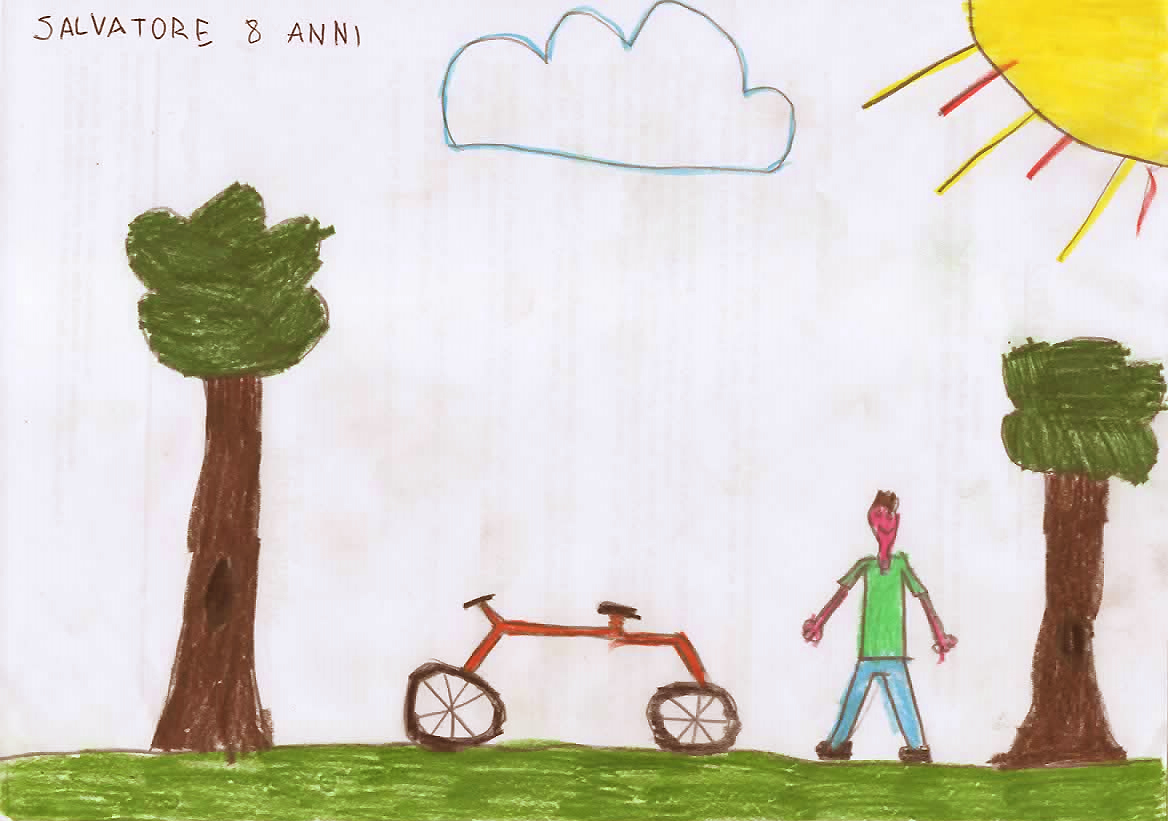 Questo disegno lo ha fatto Salvatore (8 anni)
