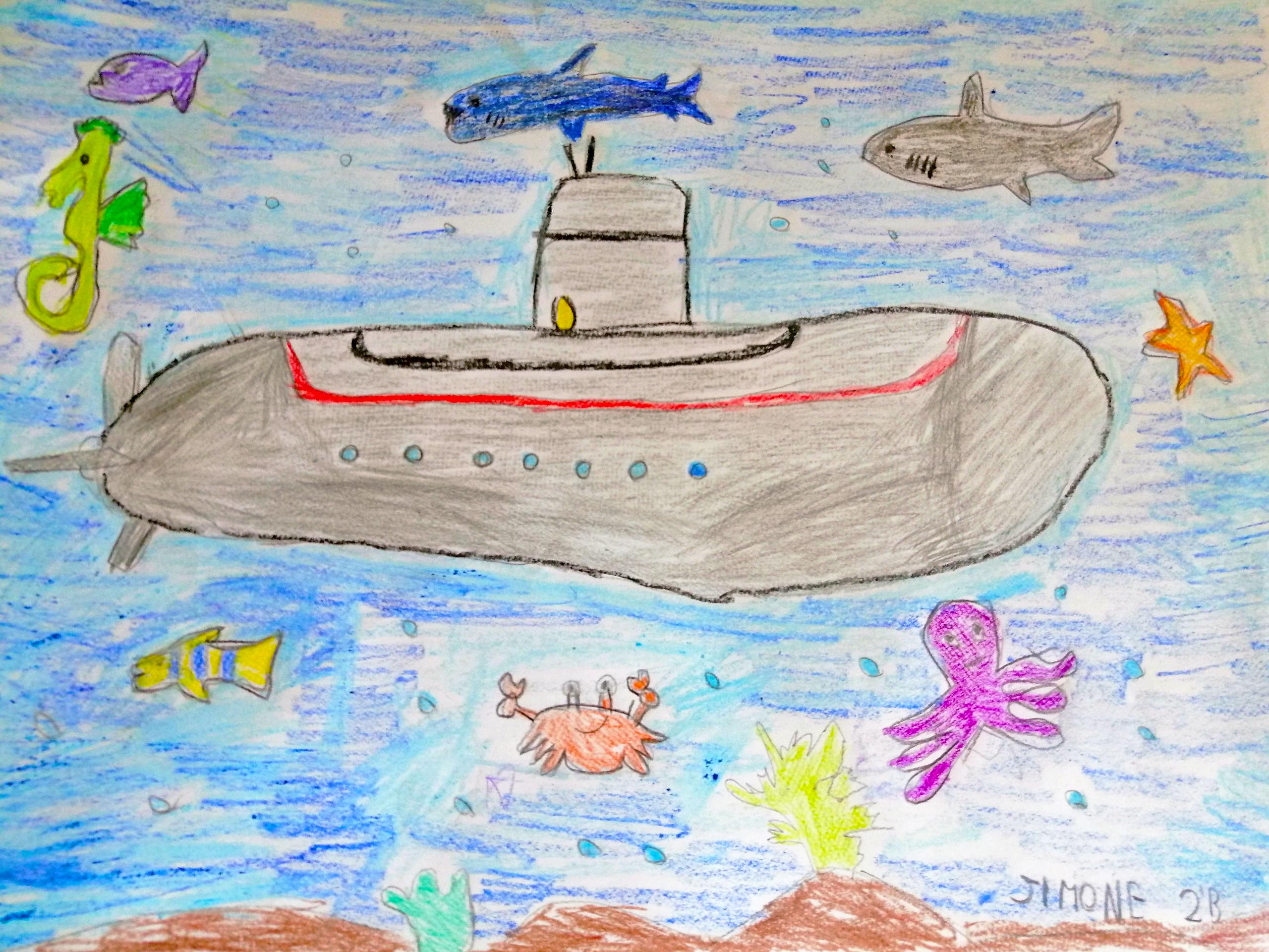 Questo disegno lo ha fatto Simone (7 anni)