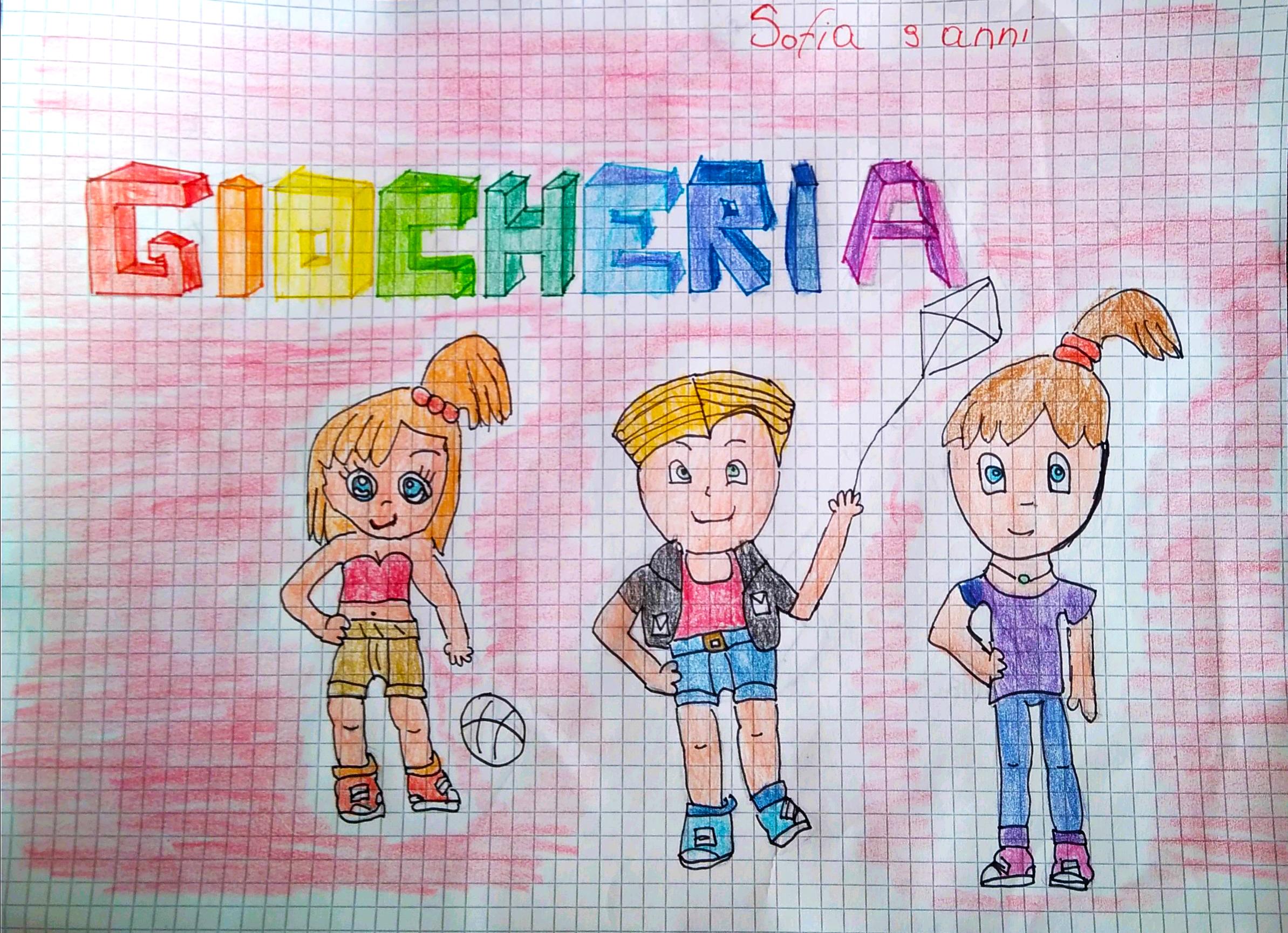 Questo disegno lo ha fatto Sofia (9 anni)