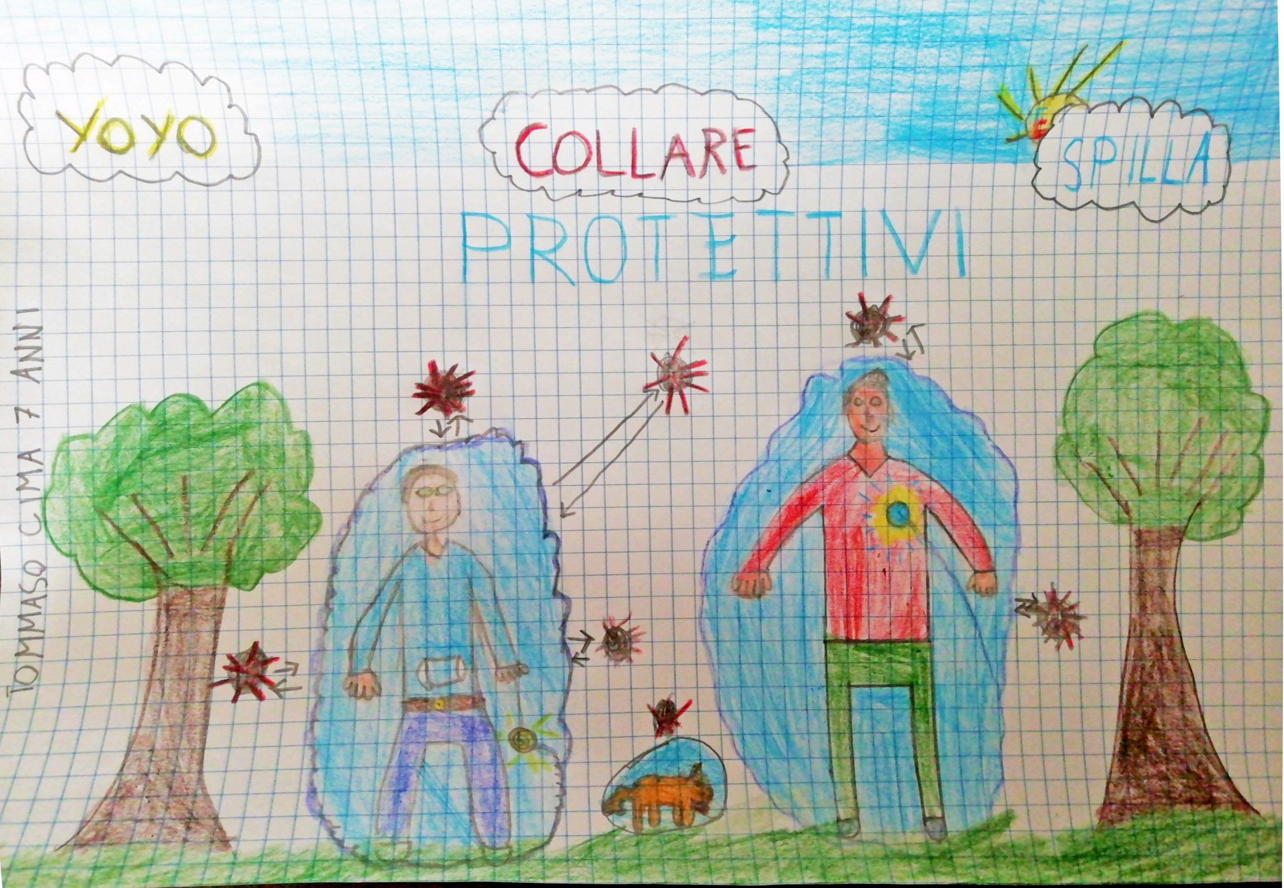 Questo disegno lo ha fatto Tommaso (7 anni)
