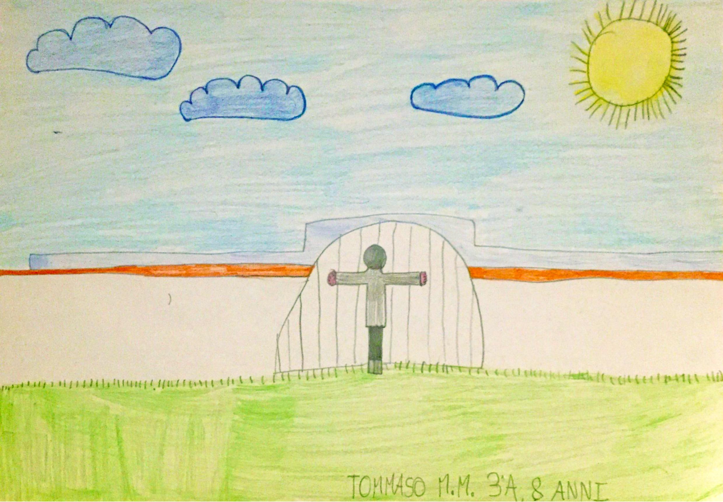 Questo disegno lo ha fatto Tommaso (8 anni)