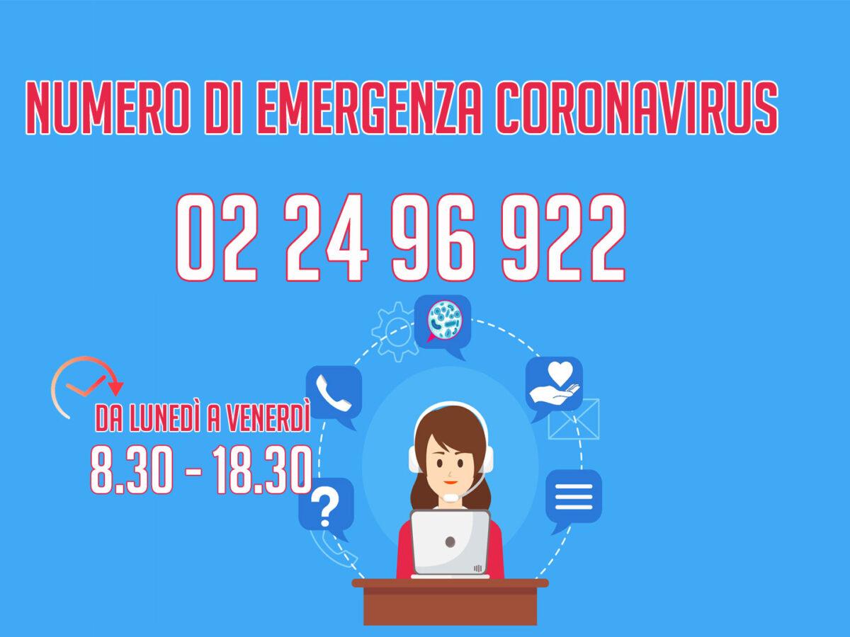 Numero del Comune per l'emergenza Coronavirus