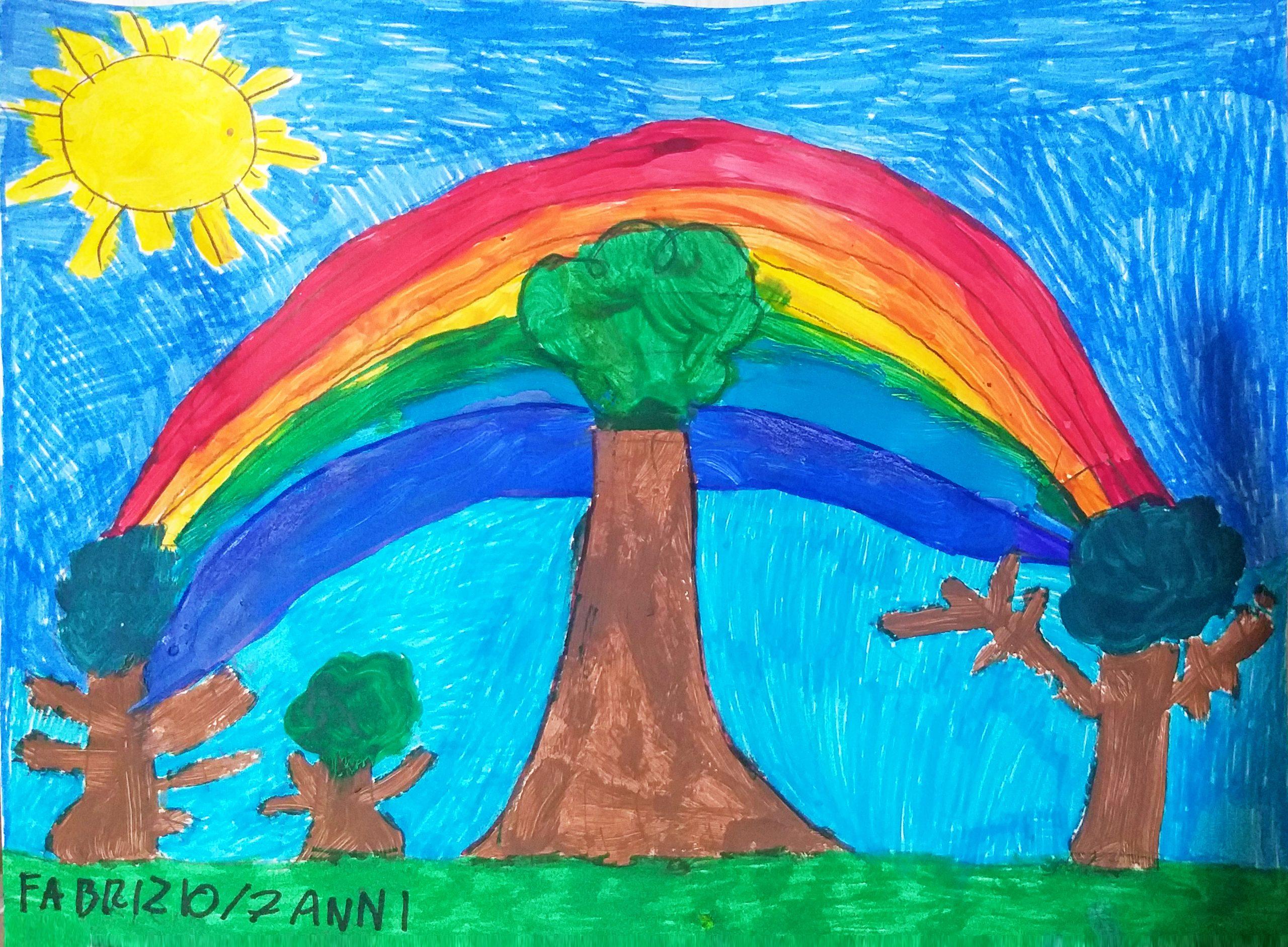 Questo disegno lo ha fatto Fabrizio (7 anni)