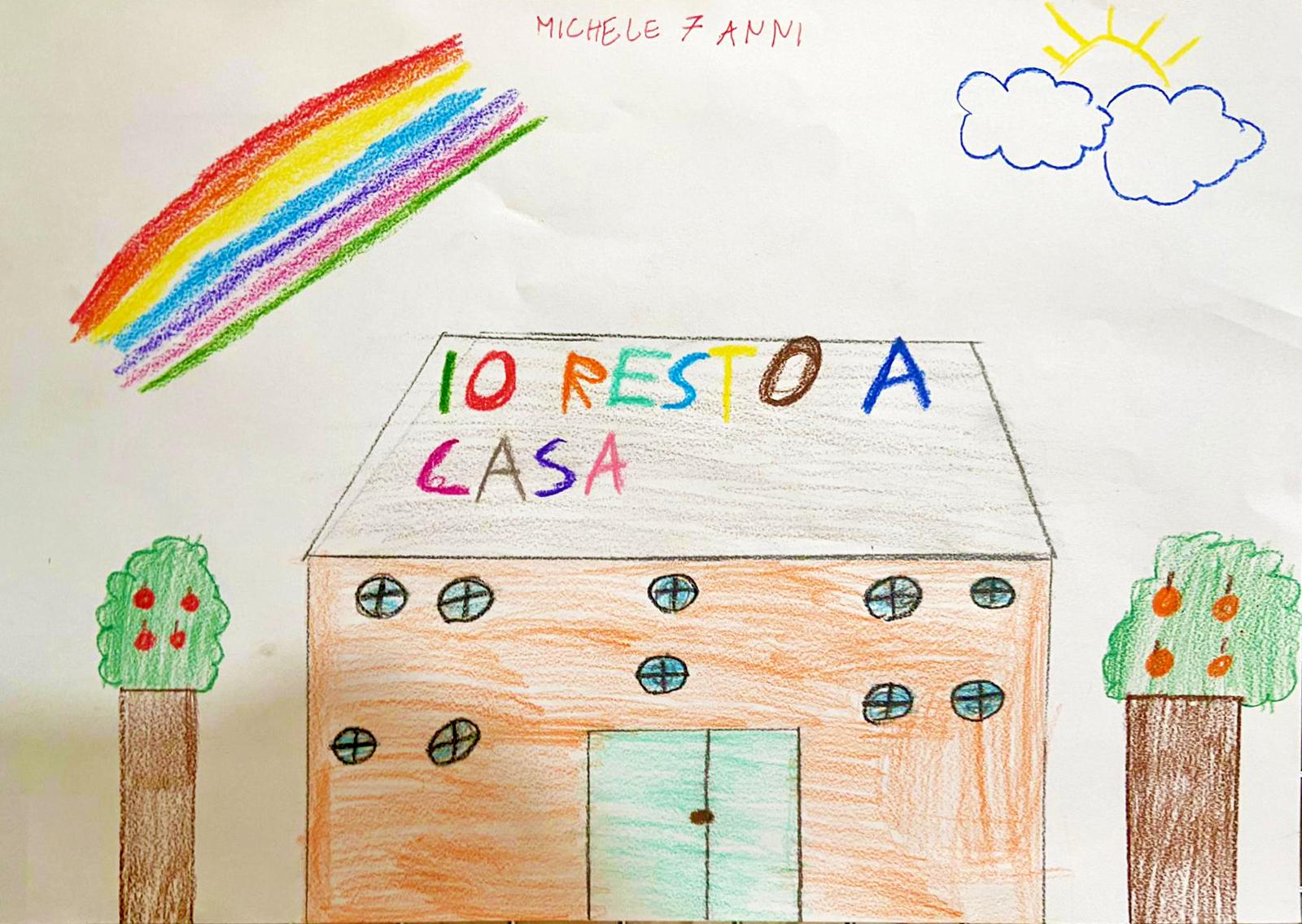 Questo disegno lo ha fatto Michele (7 anni)