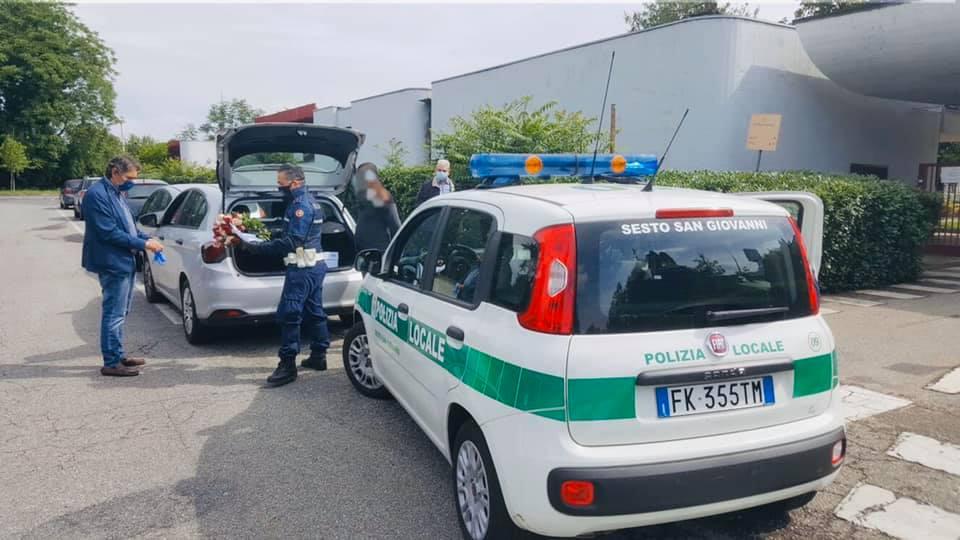 polizia locale fiori
