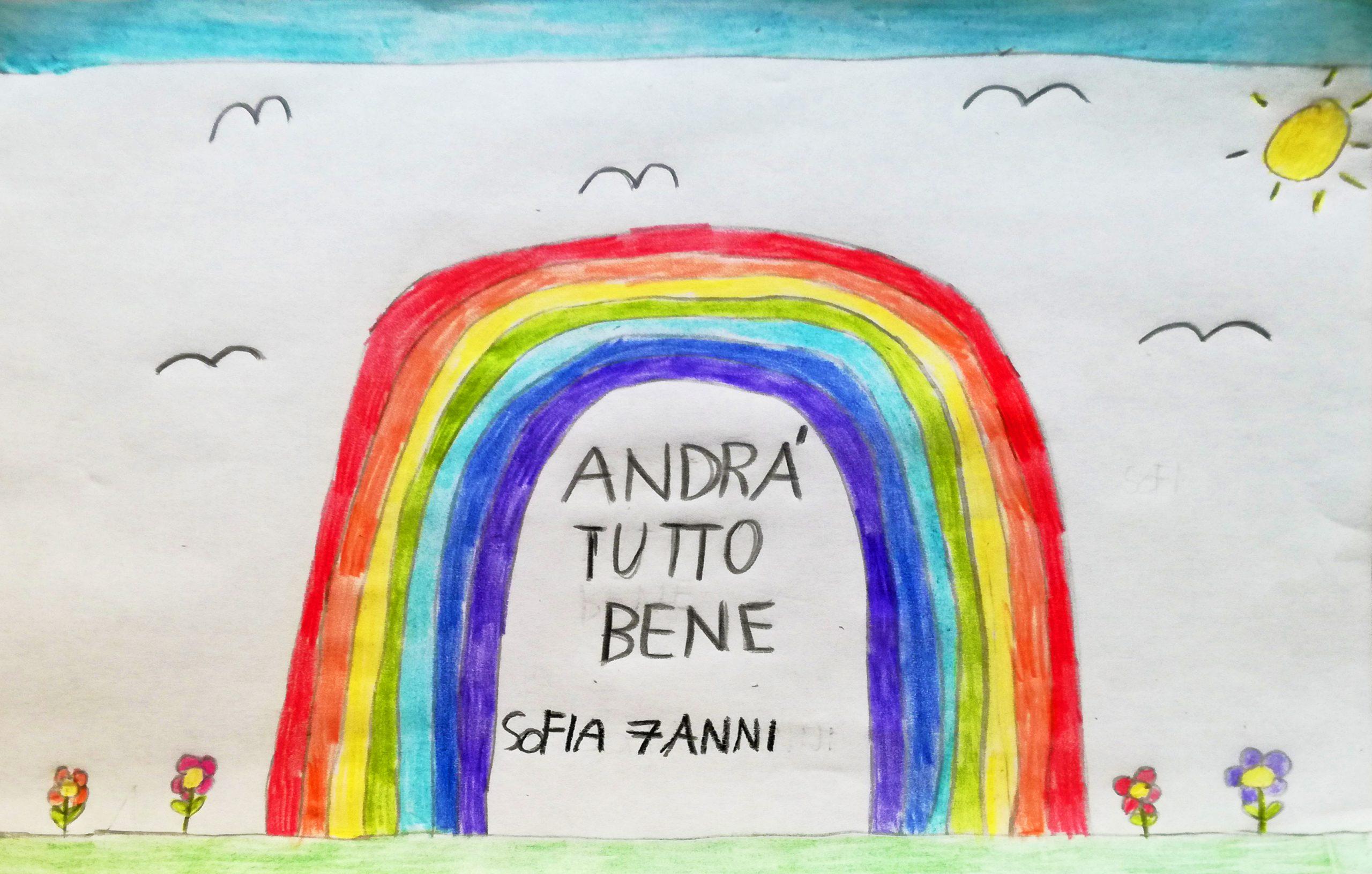 Questo disegno lo ha fatto Sofia (7 anni)