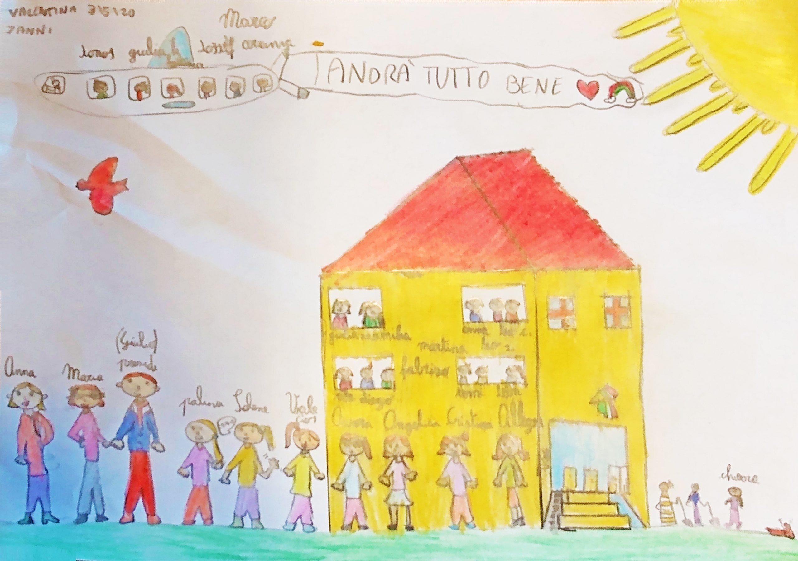 Questo disegno lo ha fatto Valentina (7 anni)