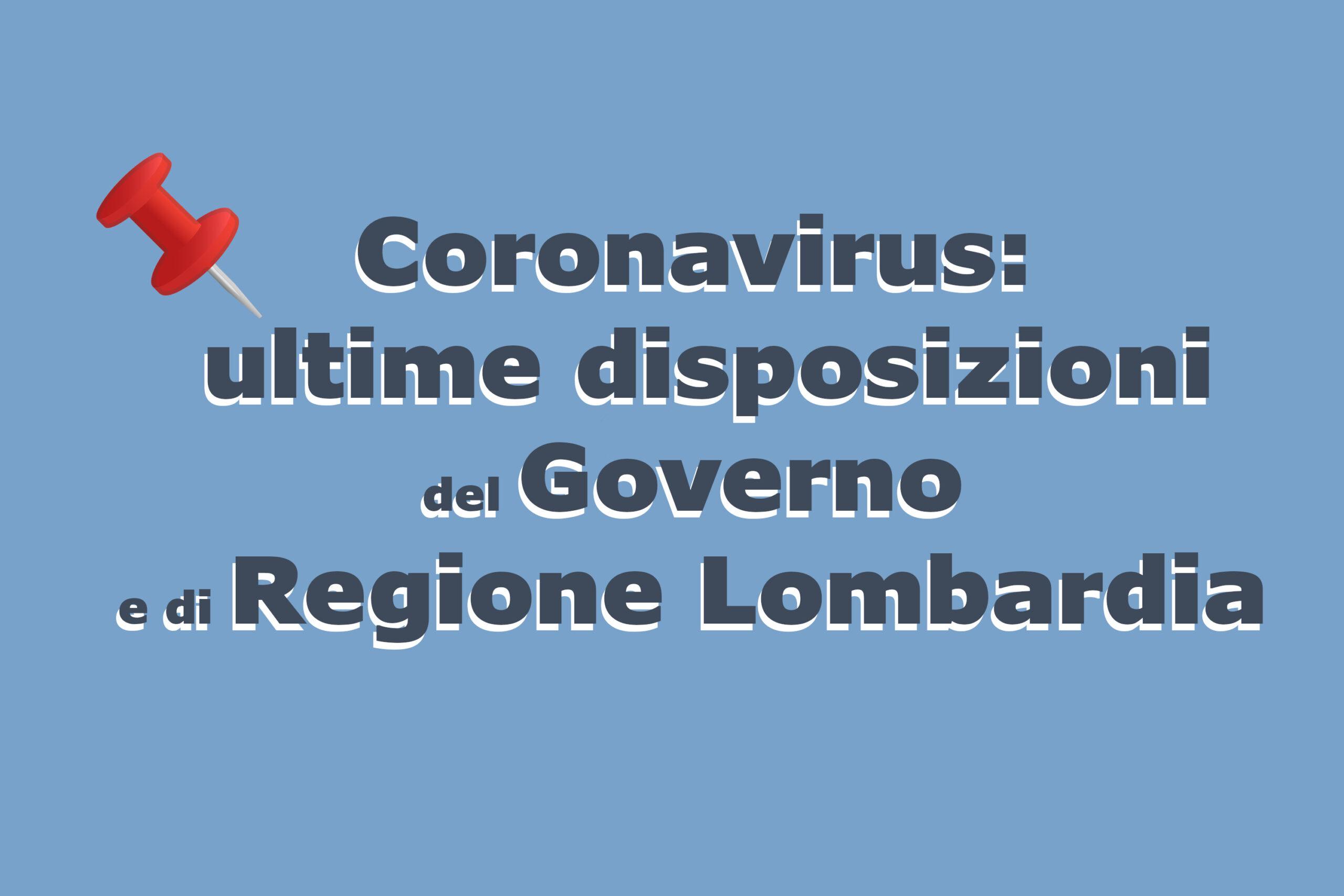 Coronavirus Le Nuove Disposizioni Comune Di Sesto San Giovanni