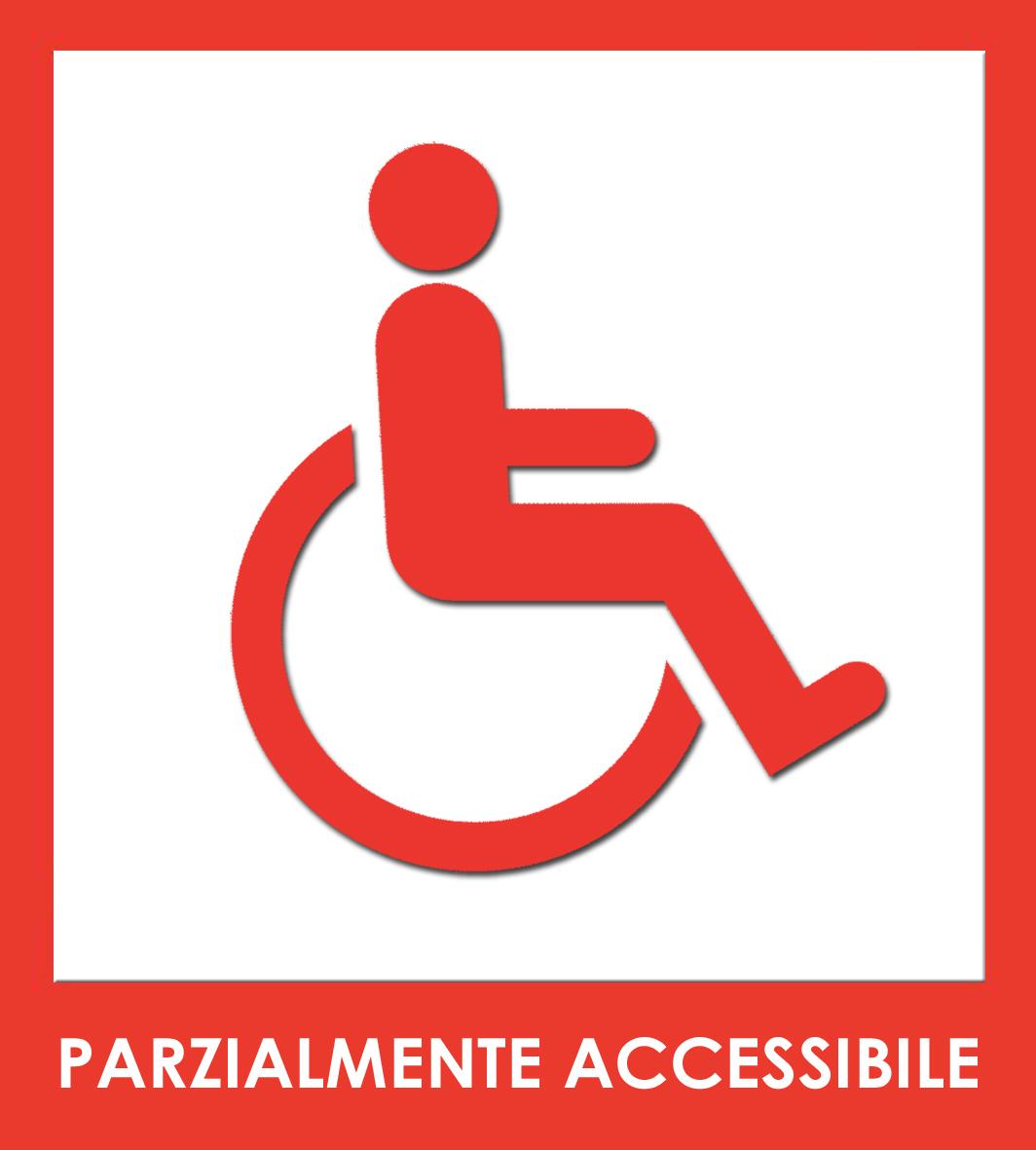 parzialmente accessibile
