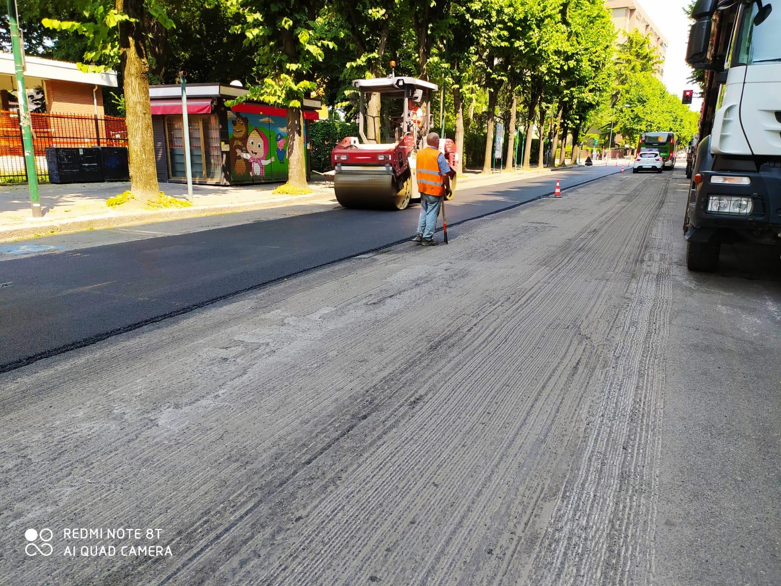 lavori asfaltatuta Saint Denis 2020