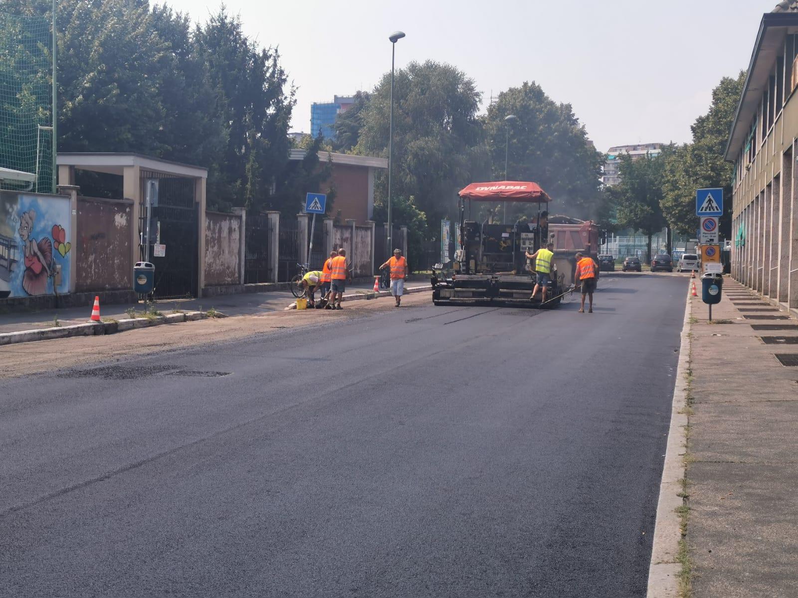 Via Puccini-asfalto 2020