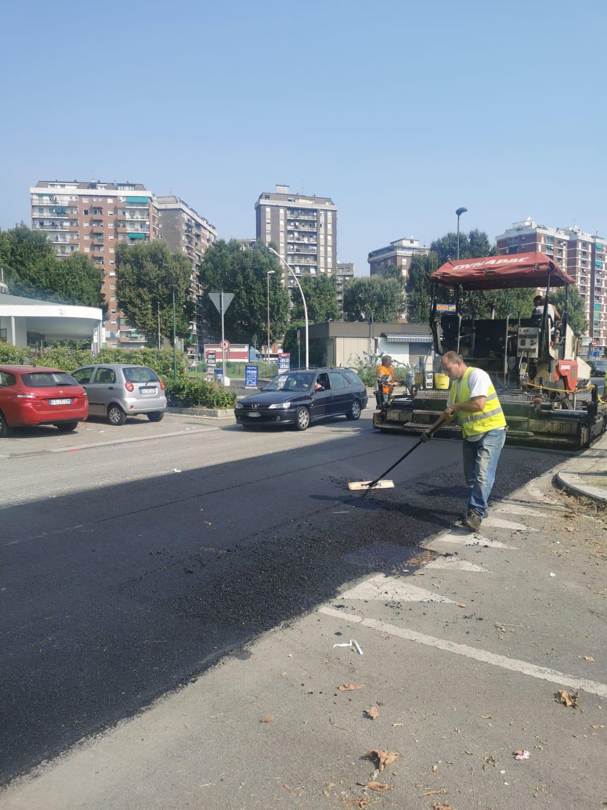 Viale Casiraghi- asfaltatura 2020
