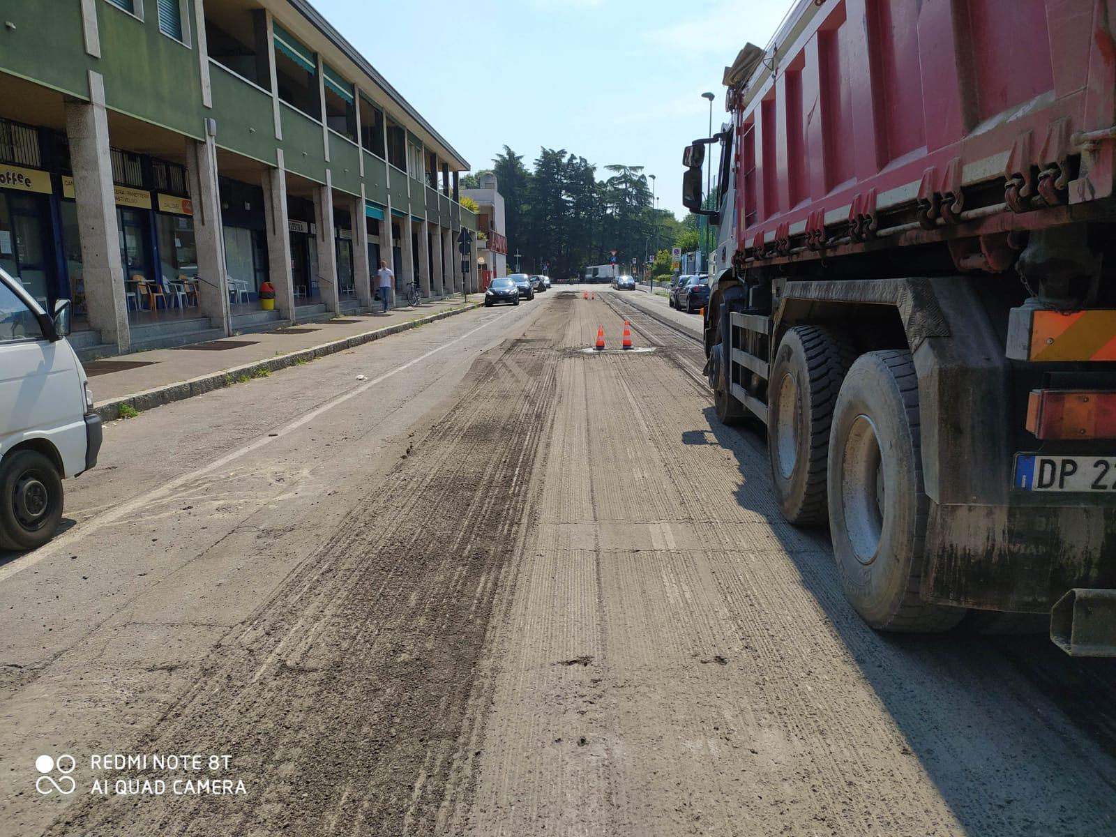 via Puccini - asfaltatura 2020
