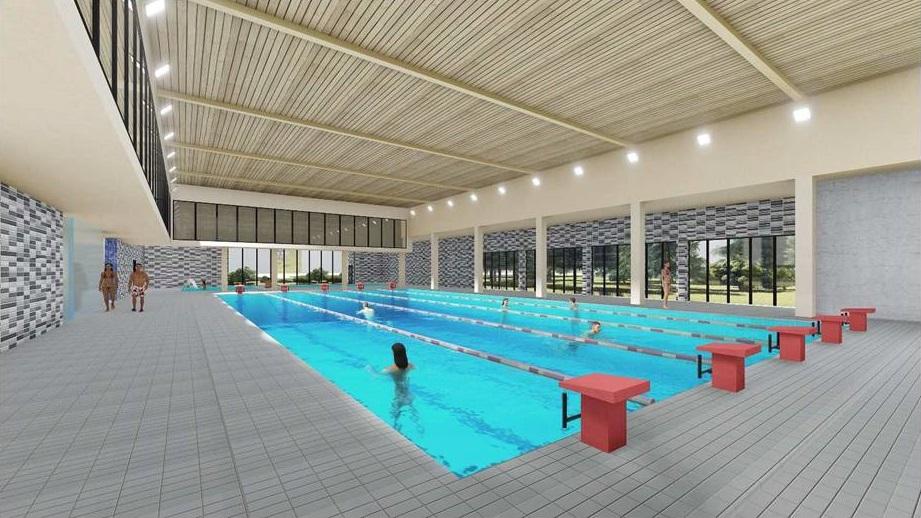 piscina De Gregorio rendering