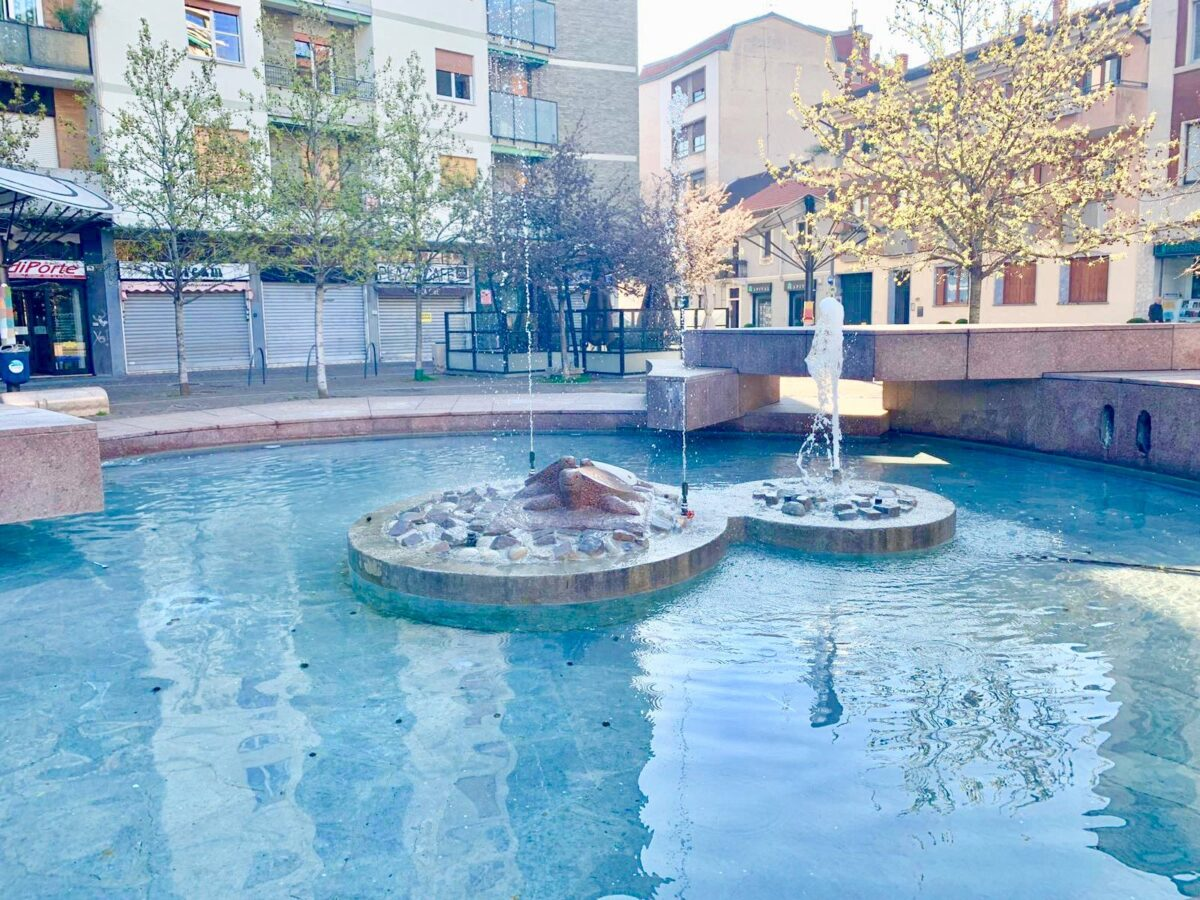 Largo la Marmora fontana