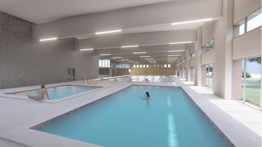 piscina Olimpia rendering