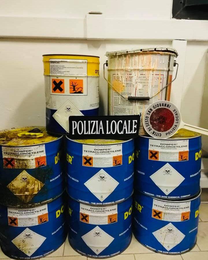 Polizia Locale, lotta dura agli scarichi abusivi: in una settimana 3.600 euro di sanzioni