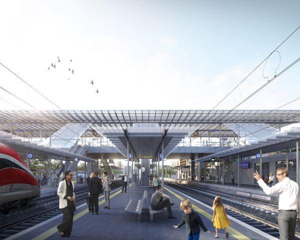 progetto stazione a ponte