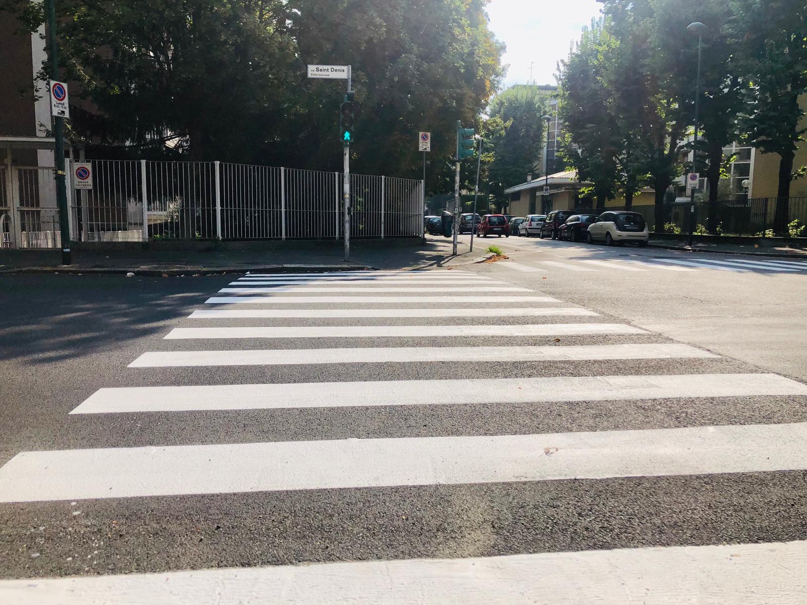 asfaltatura via saint Denis 2020