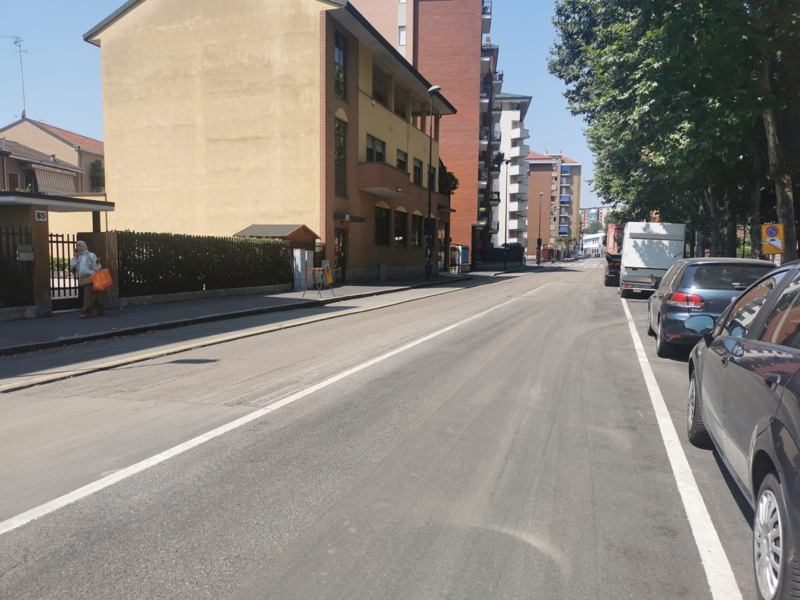 Via Bellini - asfaltatura 2020