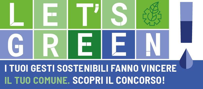 Al via Let's Green! il concorso di CAP che premia le buone pratiche di sostenibilità