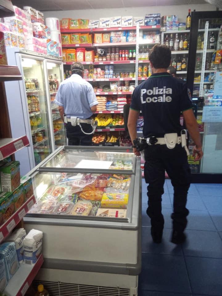 pattuglione polizia locale