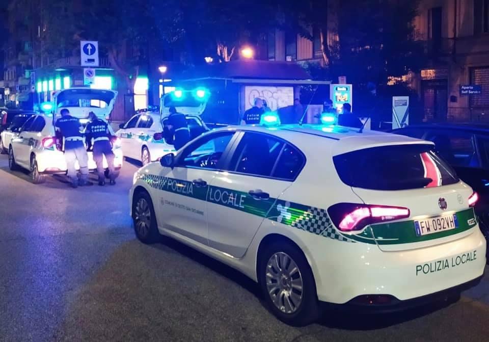 polizia locale pattuglione