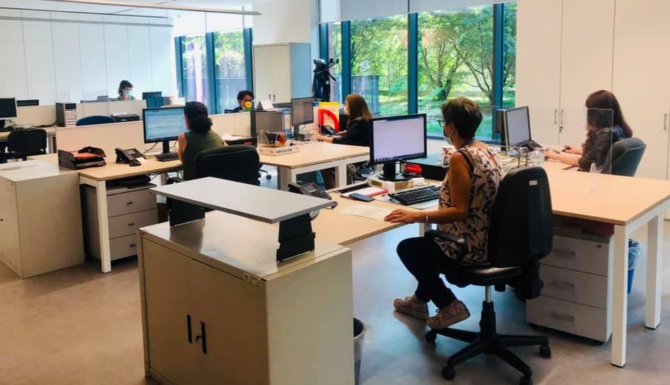 Ufficio tributi e catasto, inaugurata nuova sede in viale Edison