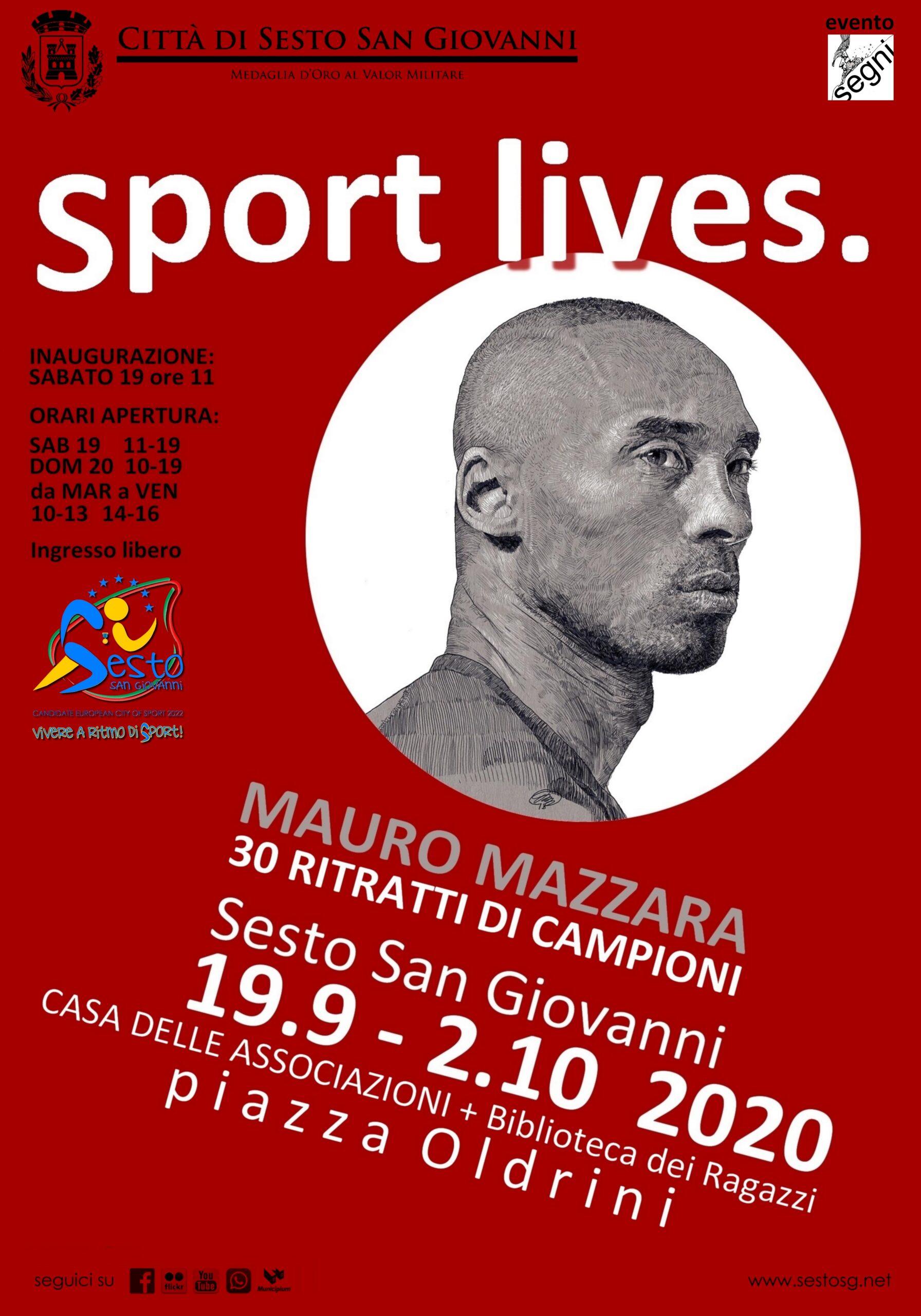 Sport lives.