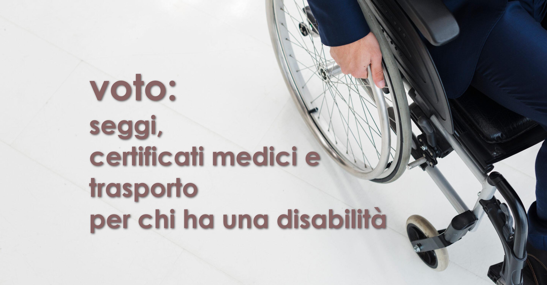 voto disabilità