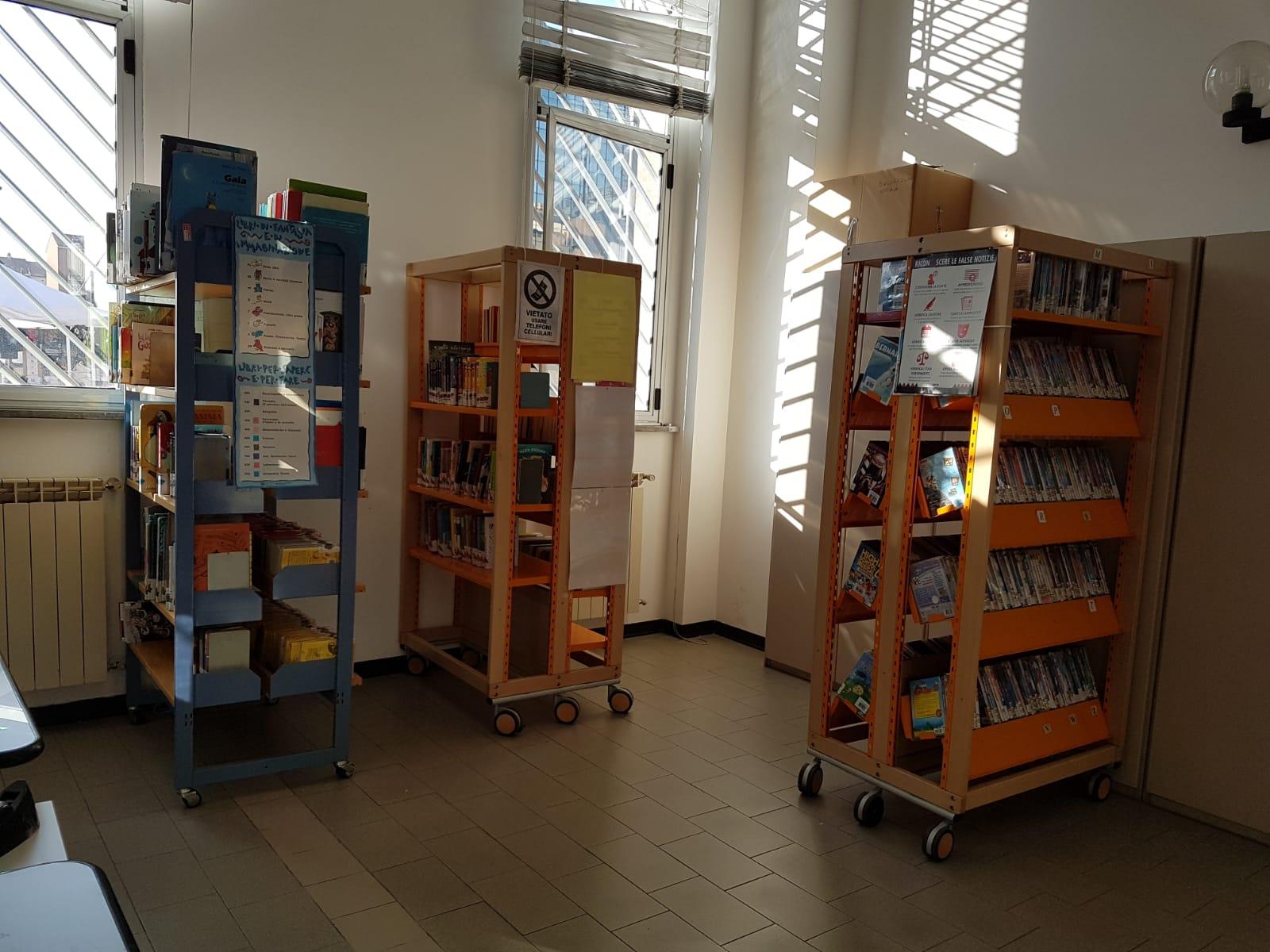 La Biblioteca dei ragazzi riapre con un punto prestiti