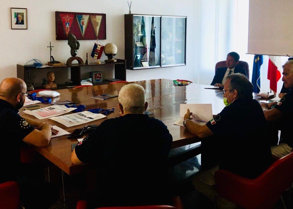 Commissione Aces-Europe in visita a Sesto
