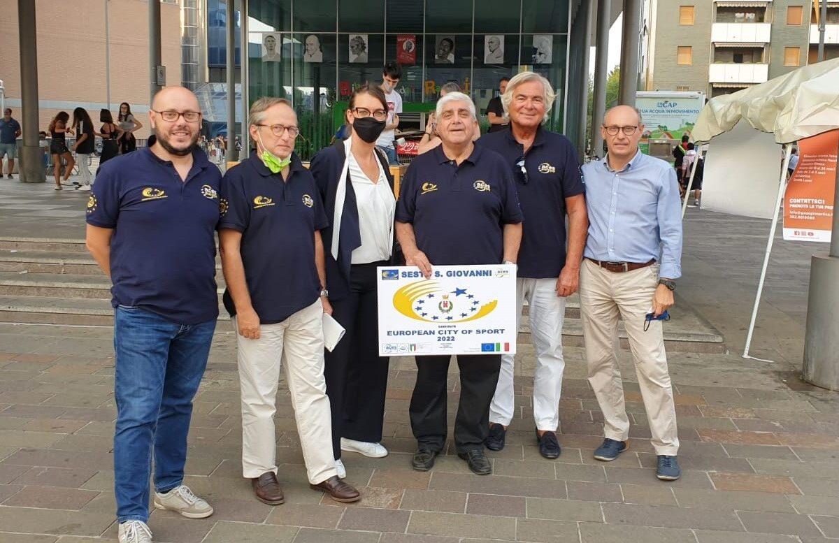 Commissione Aces-Europe ospite alla Festa dello Sport, Salute, Volontariato 2020