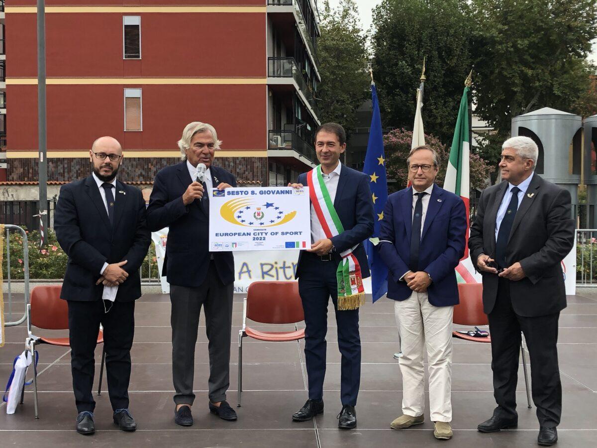 Conferenza stampa difesa della candidatura - Festa dello Sport, Salute, Volontariato 2020