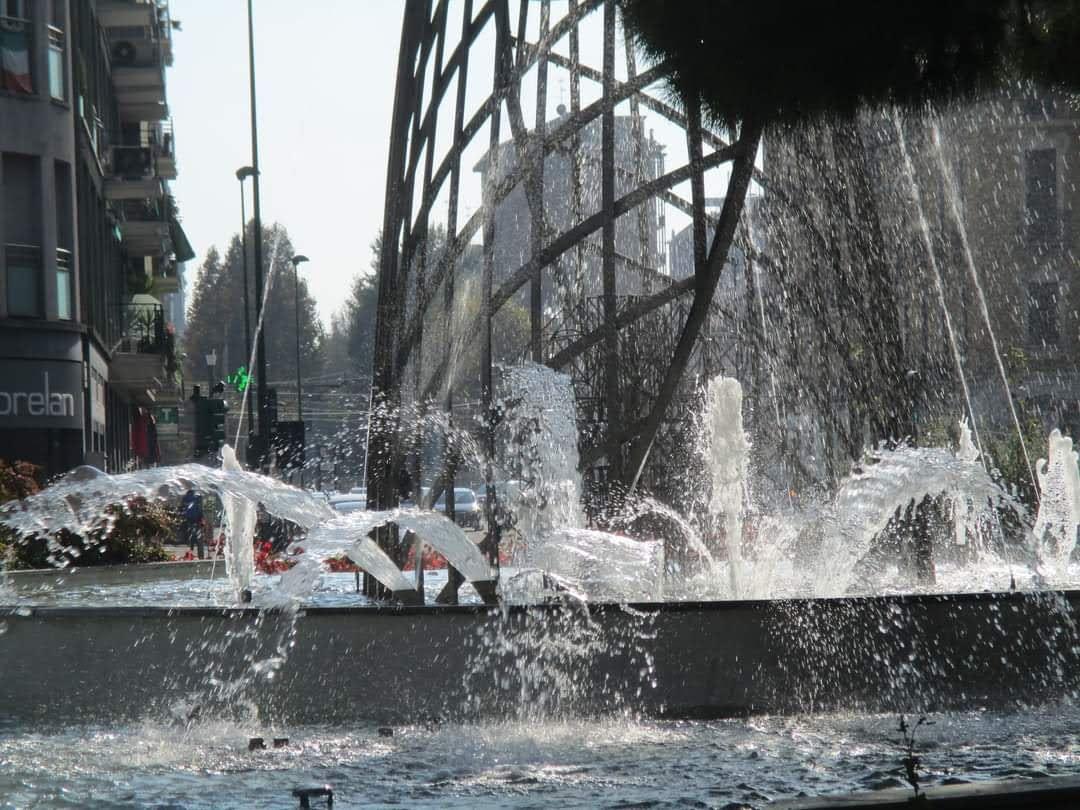 Fontana in piazza IV Novembre