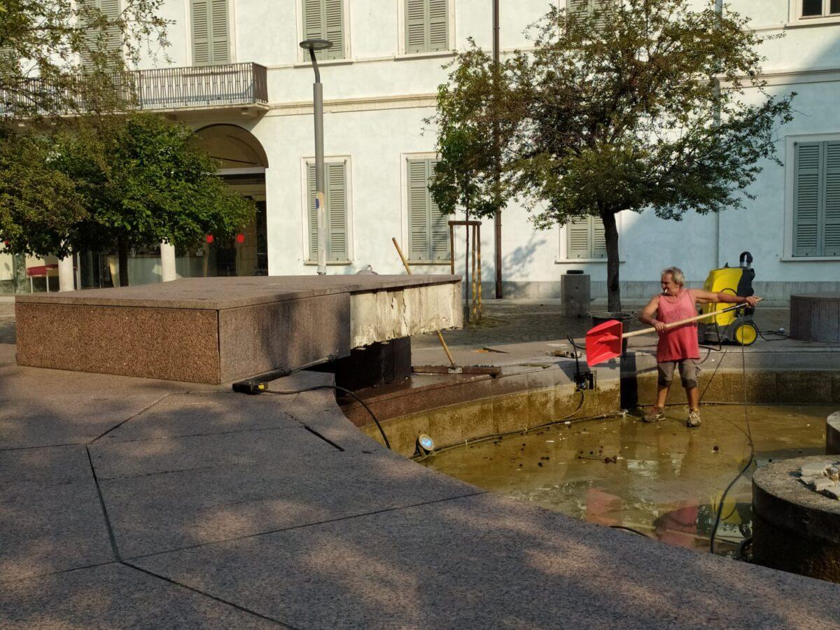 fontana largo Lamamrmora