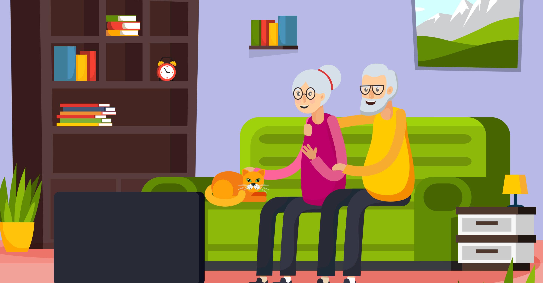 Nonni in casa