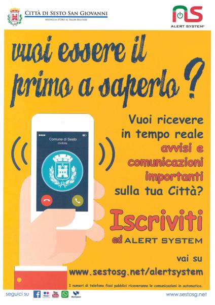 Locandina Alert System
