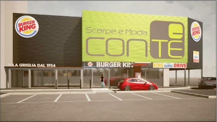 Consiglio comunale approva progetto nuovo Burger King in via Pasolini