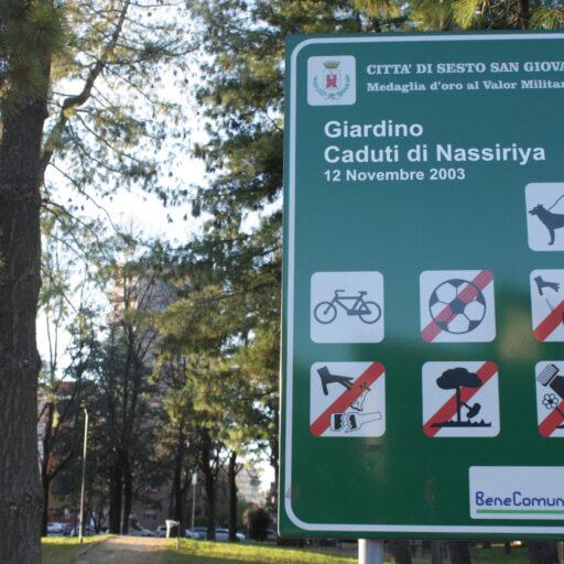 """image Giardino """"Caduti di Nassiriya"""""""